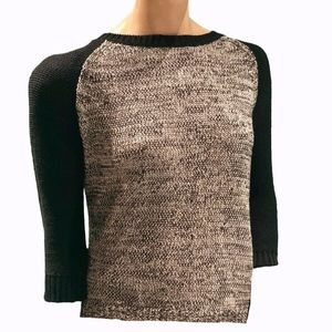 Karisma Long Sleeve Sweater With Back Clip On NWT